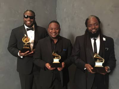 From left, Gramps, Mojo and Peetah Morgan of the sibling group Morgan Heritage.