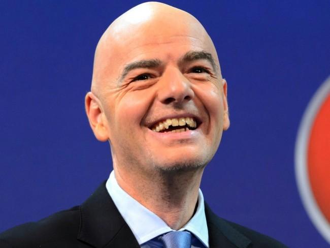 FIFA's new boss, Gianni Infantino