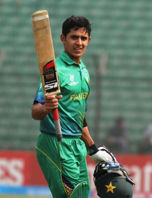 Umaid Masood rescued Pakistan with a brilliant century.