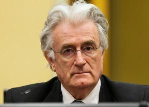 Bosnian Serb wartime leader Radovan Karadzic appears in the courtroom for his appeals judgement at the International Criminal Tribunal for Former Yugoslavia in  The Hague July 11, 2013.