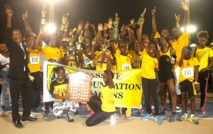 Christ Church Foundation are the new queens of the Barbados Secondary Schools Athletics Championship.
