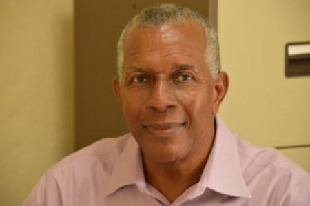 Resident Chaplain of Codrington College Dr Kirkley Sands