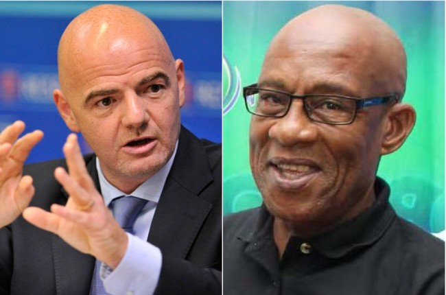 Gianni Infantino & Randy Harris