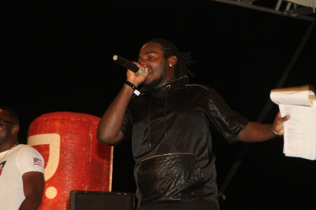 Seth Bovell said it was a dream come true to host the Reggae Beach Party.