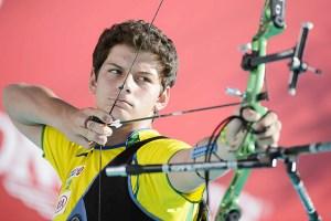 Marcus Vinicius D'Almeida of Brazil