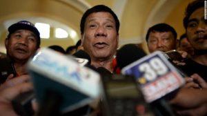Philippines presidential candidate Rodrigo Duterte