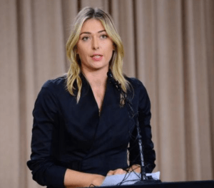 Possible light at the end of the tunnel for Maria Sharapova.