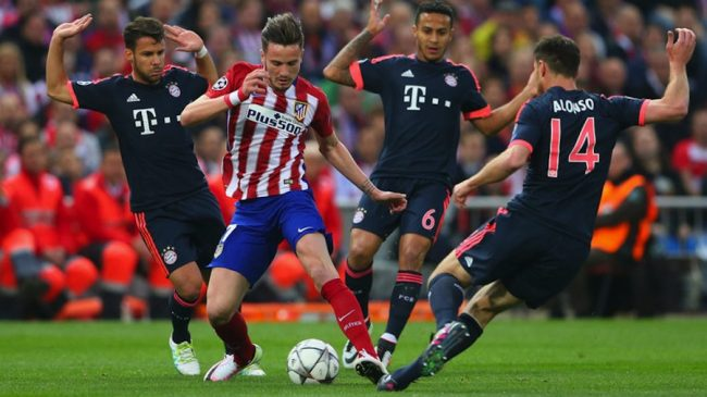 Saul Niguez scored a brilliant goal.