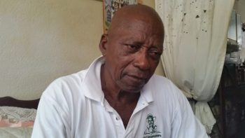 Orville Phillips is still shocked by the sudden death of his wife Doriel who collapsed and died in Waterman's Village, St James last night.