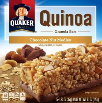 One of the Quaker products that has been recalled.