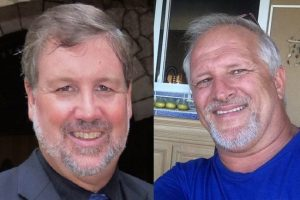 Randy Hentzel (left) and Harold Nichols.