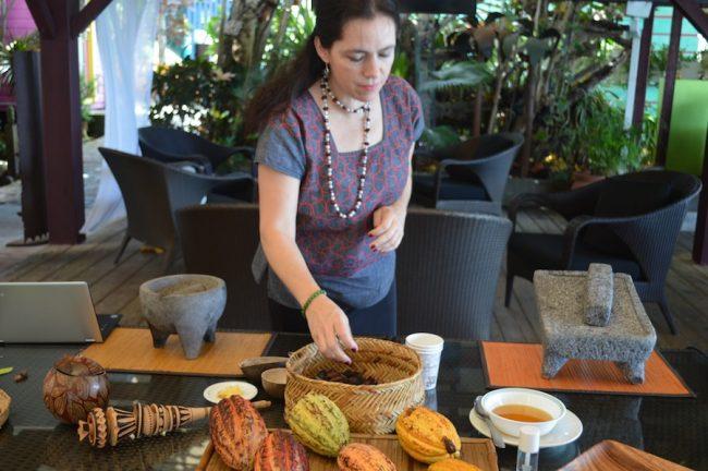 Ana Rita Garcia Lascurain, director of Mexico City's MUCHO Chocolate Museum.