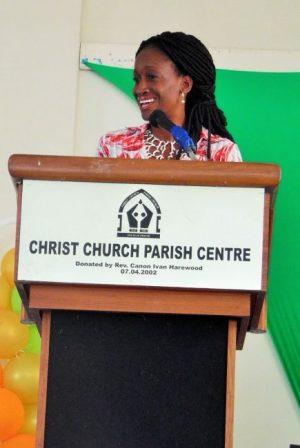 Featured speaker Cherita Howard-O'Dell.