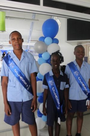 Nathan Wiltshire, Bryeisha Worrell and Tyrese Moseley secured places in public secondary schools.