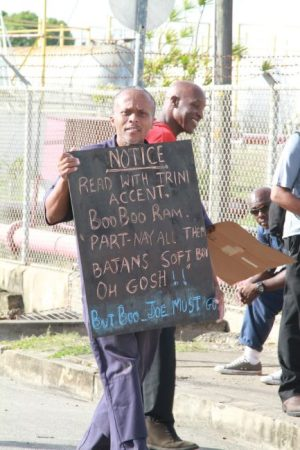 This worker condemned BL&P's use of management teams from Trinidad and Tobago.