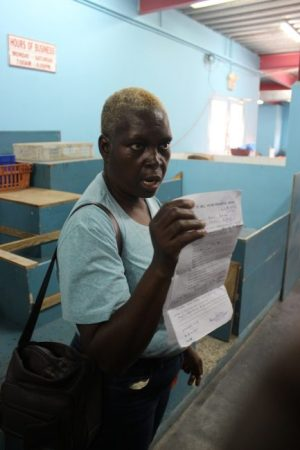 Donna Callender says for the past five years she has been unable to get her permit renewed.