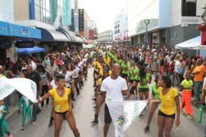 Bridgetown alive last Saturday as the Crop Over  City Fest and Ceremonial Delivery Of The Last Canes  took over Broad Street.