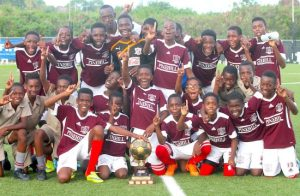 St Leonard's Boys are the new kings of the Barbados Secondary Schools Football League. (Pictures by Morissa Lindsay)