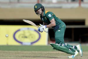 Man-of-the-Match Farhaan Behardien kept the Proteas' innings together with a fighting half-century.