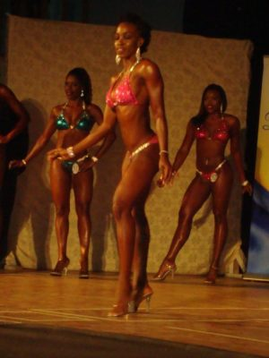 Shakira Doughlin came out on top in the Miss Bikini Fitness.