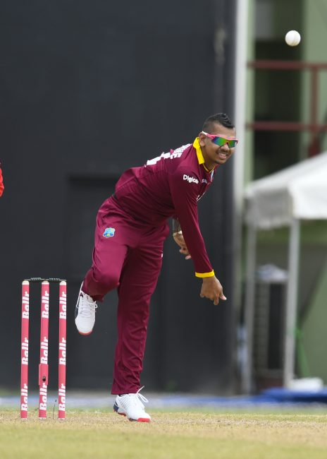 Man-of-the-Match Sunil Narine bowled brilliantly to capture a six-wicket haul.