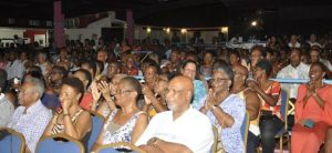 A large crowd turned up on Sunday night for All Stars' appearance before the judges.