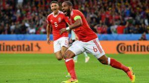 Ashley Williams scored Wales' equalizer.