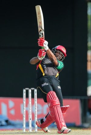 Evin Lewis on the go during his blistering 73.