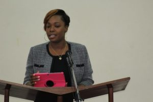 Labour Management Advisor Brittaney Brathwaite