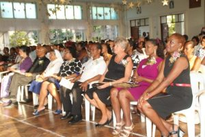 The school hall was filled with proud parents and teachers of St Ursula's.