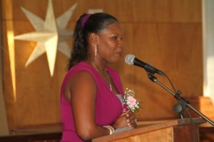 Kellie Cadogan, featured speaker and past student.