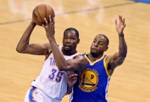 Kevin Durant will be with the Golden State Warriors next year.