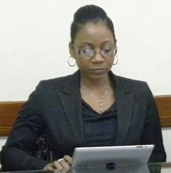 President of the Bar Liselle Weekes