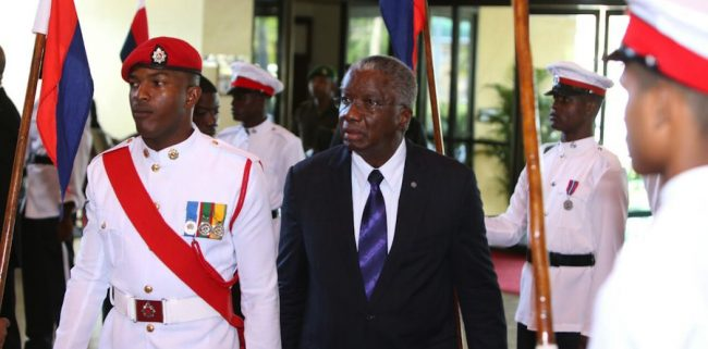 Prime Minister Freundel Stuart recently used the 37th CARICOM Heads of Government Summit in Guyana to sound  the warning that correspondent banking poses a real and present danger to Barbados and its regional neighbours.