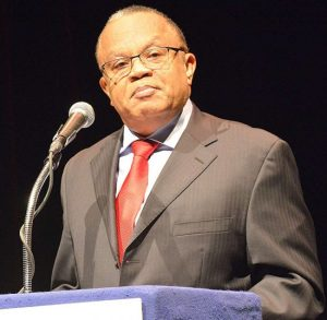 BLP's General Secretary Dr Jerome Walcott