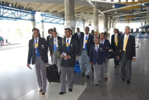 Barbados' seniors leaving for Utah.
