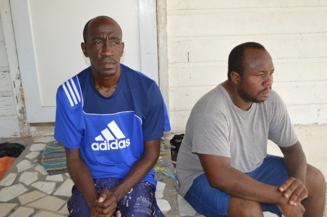 Speaking exclusively to Barbados TODAY at their Providence, Christ Church family home, brothers Dave (left) and Ryan said they were sticking with their belief that their uncle was innocent.