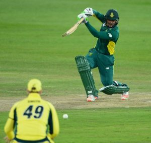 Quinton de Kock was in imperious form Friday.