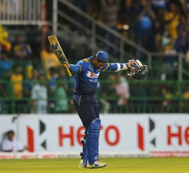 Tillakaratne Dilshan takes a final bow on his last day in international cricket. He played 497 matches for Sri Lanka scoring 17 671 internationals runs.