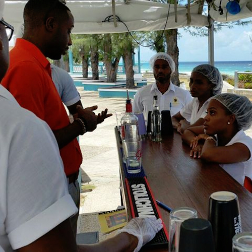 Students benefit from practical hands-on experience at top bars around the island.