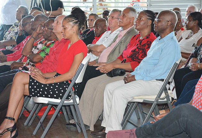 A section of BLP members at the party's annual conference.