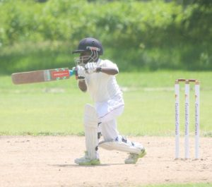 Antoine Darlinton top scored with 15 not out to lead Eden Lodge to victory in the low-scoring match.
