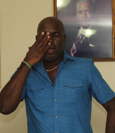 Minister of Transport and Works Michael Lashley was caught off guard by today's strike, saying he was taken aback by the move by the PSV operators.