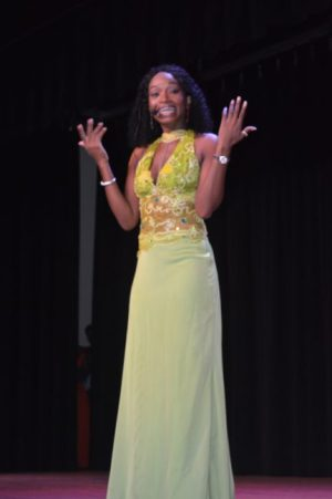 The director of the pageant and owner of Bajantics Dancercise Marsha Whittier.