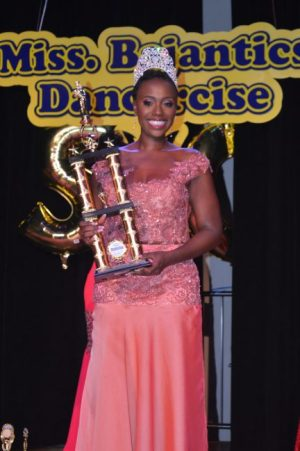 Winner of Miss Bajantics 2016 Shireifa Joseph.