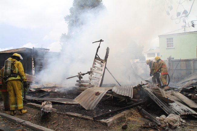 Investigations are continuing into the cause of today's fire.