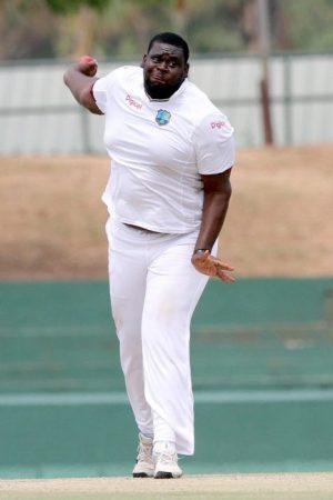 Rahkeem Cornwall took nine wickets in the match to complement two half-centuries.