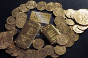 The hoard discovered by the heir came in at 100kg.