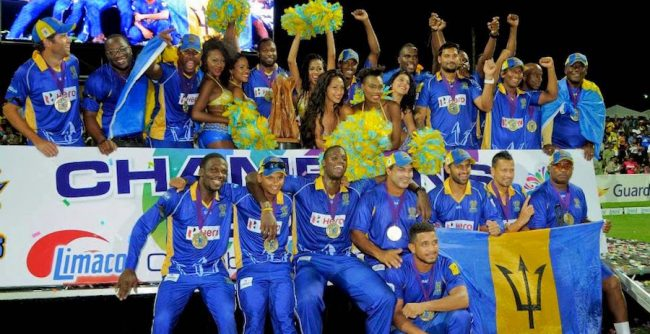 Barbados Tridents took the CPL title two years ago. (FP)