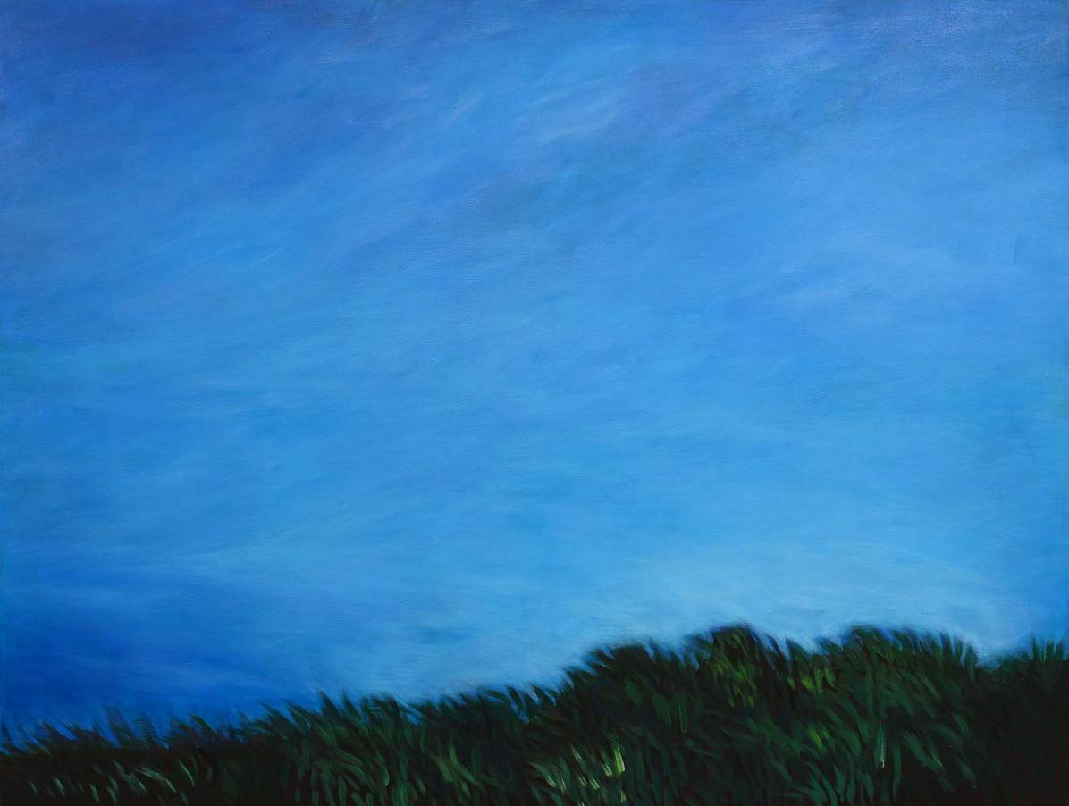 Himmel, 2014, 125x165cm, Acryl auf Leinwand